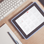 Calendario su smartphone, tablet e web